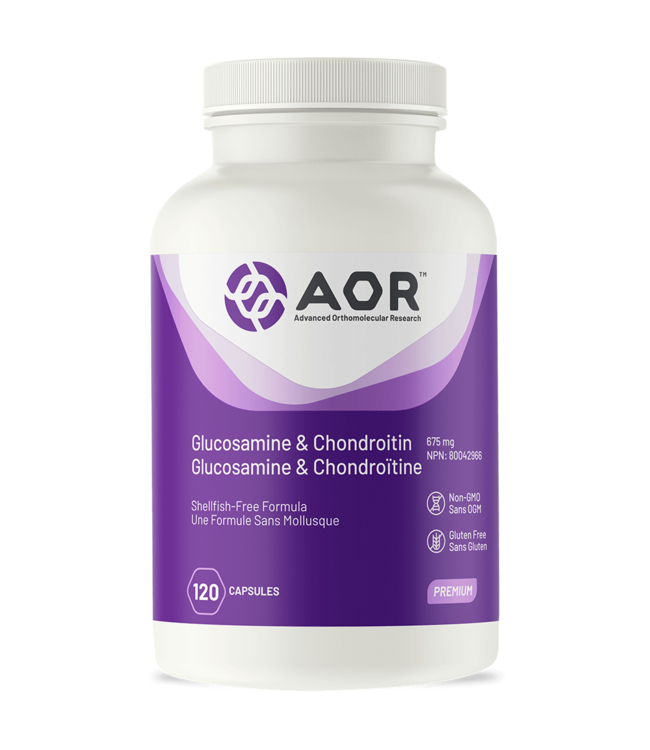 AOR Glucosamine and Chondroitin, 120 caps