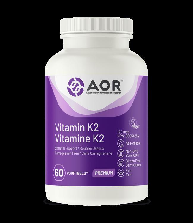 Vitamin K2, 60 capsules