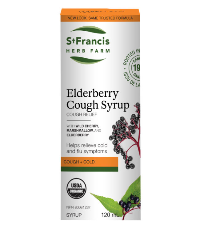 St Francis Elderberry Syrup, 120ml