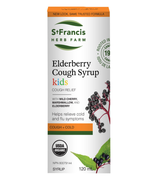 St Francis Elderberry Syrup Kids, 120ml