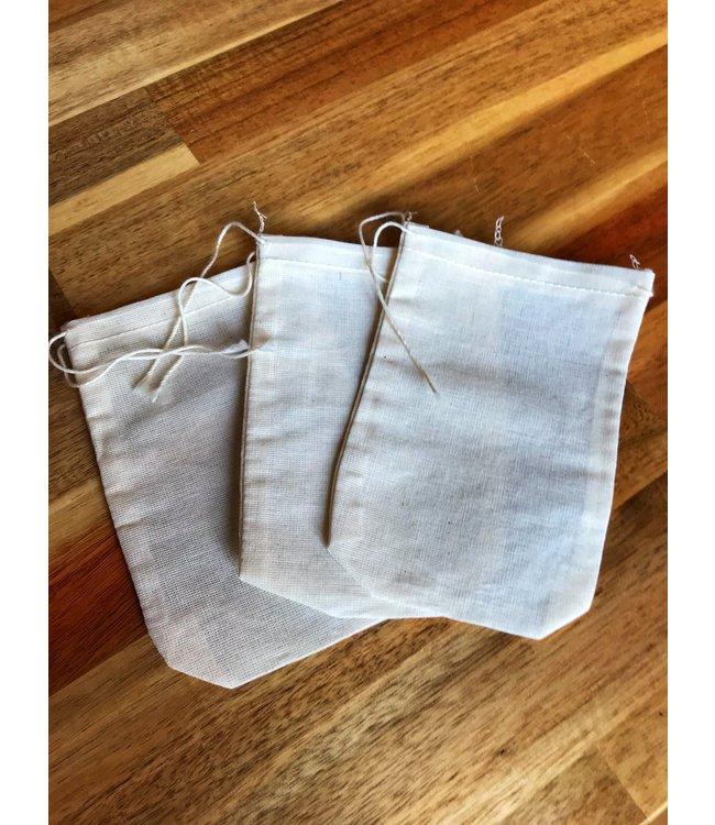 Cotton Muslin Tea Bags, Lg