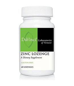 DaVinci Zinc Lozenges, 60ct