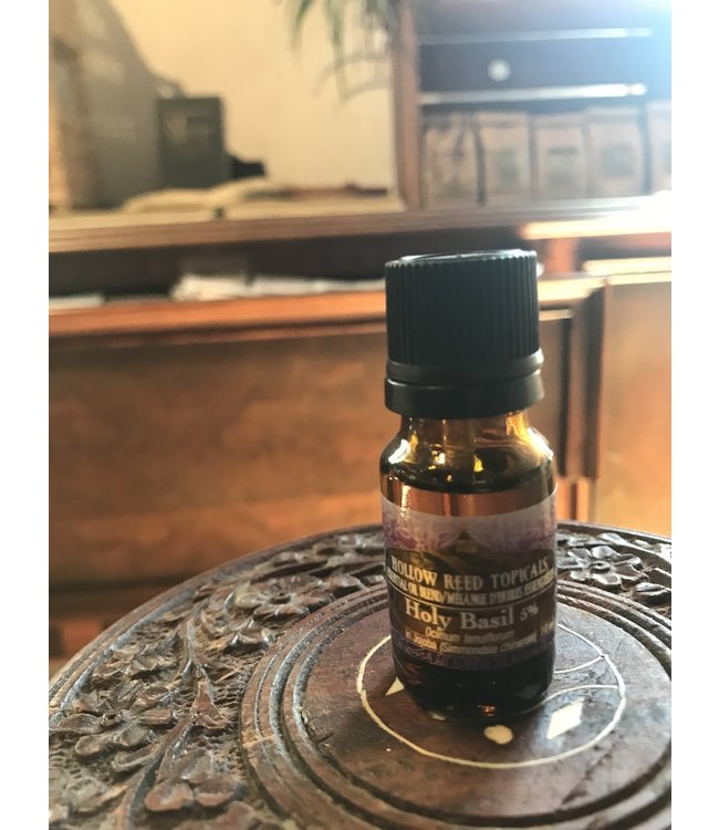 Hollow Reed Herbals Holy Basil 5% 10ml