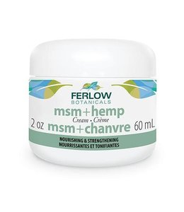 Ferlow MSM and Hemp Cream, 60 ml