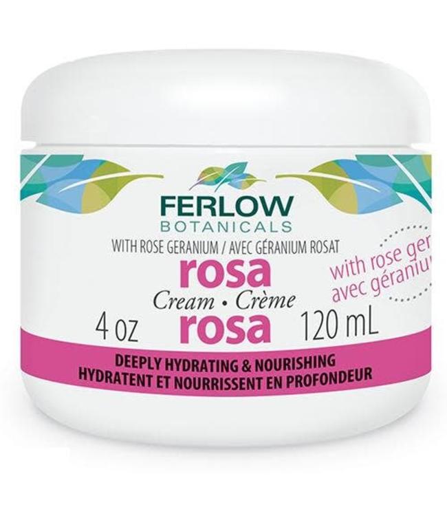 Ferlow Rosa Cream, scented 120ml