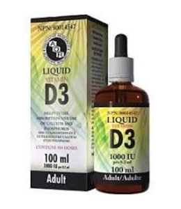 Liquid Vitamin D3 100 ml