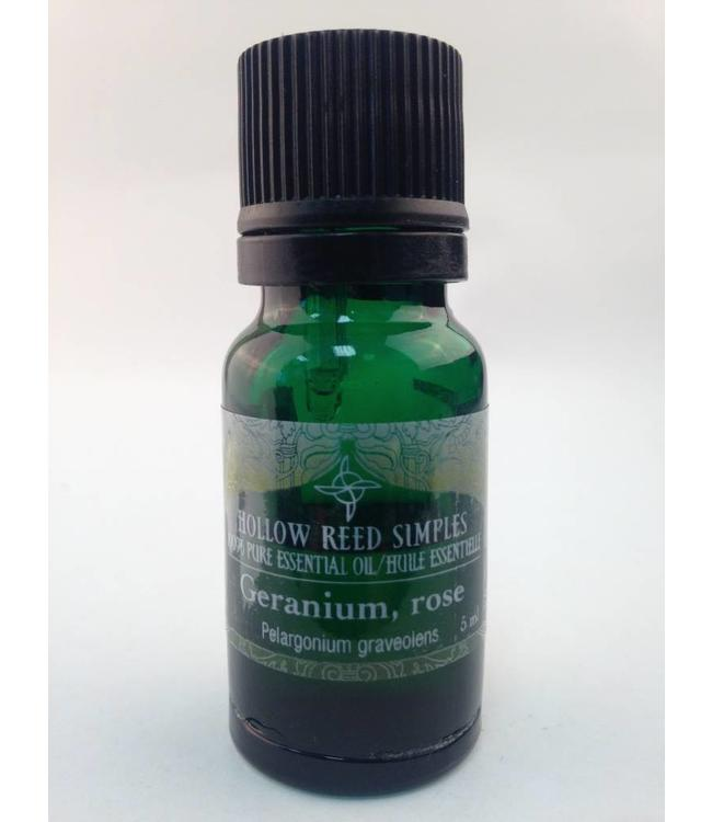 Hollow Reed Holistic Geranium Essential oil 5ml