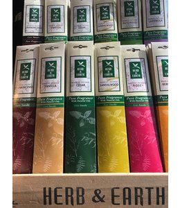 Herb and Earth Bergamot Incense