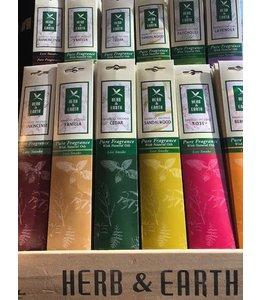 Herb & Earth Lavender Incense