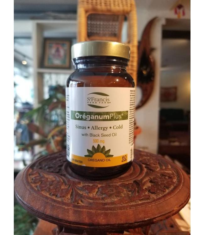 OreganumPlus (Oil of Oregano) 60 gel caps