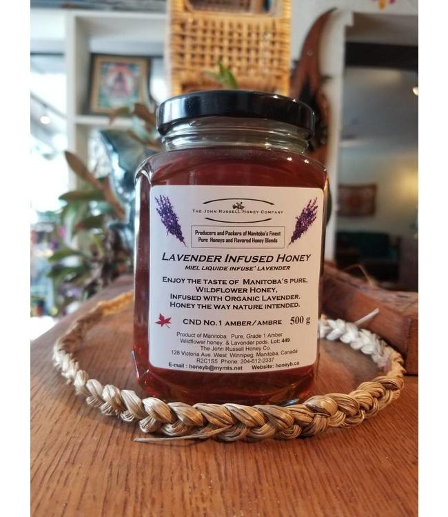 John Russell Lavender Honey 500g