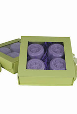 Lavender Bee Guest Soap-Set 4