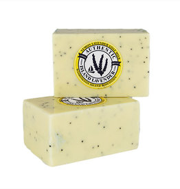 Lemon Lavender Poppyseed Goat Milk Soap