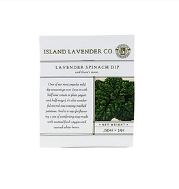 Lavender Spinach Dip