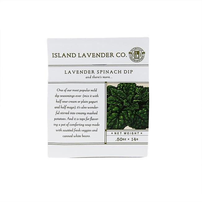 Lavender Spinach Dip