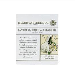 Lavender Onion/Garlic Dip