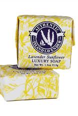 Lavender Sunflower Guest Soap