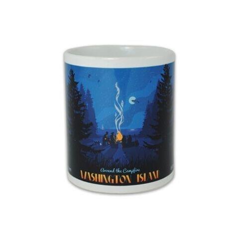 Around the Campfire Mug-WI