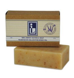 Natural Shea Honey Oatmeal Soap