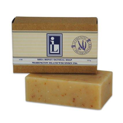 Natural Shea Honey Oatmeal Soap