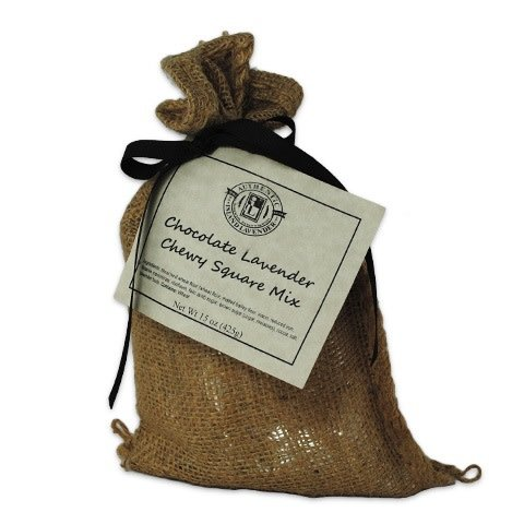Chocolate Lavender Chewy Square Mix