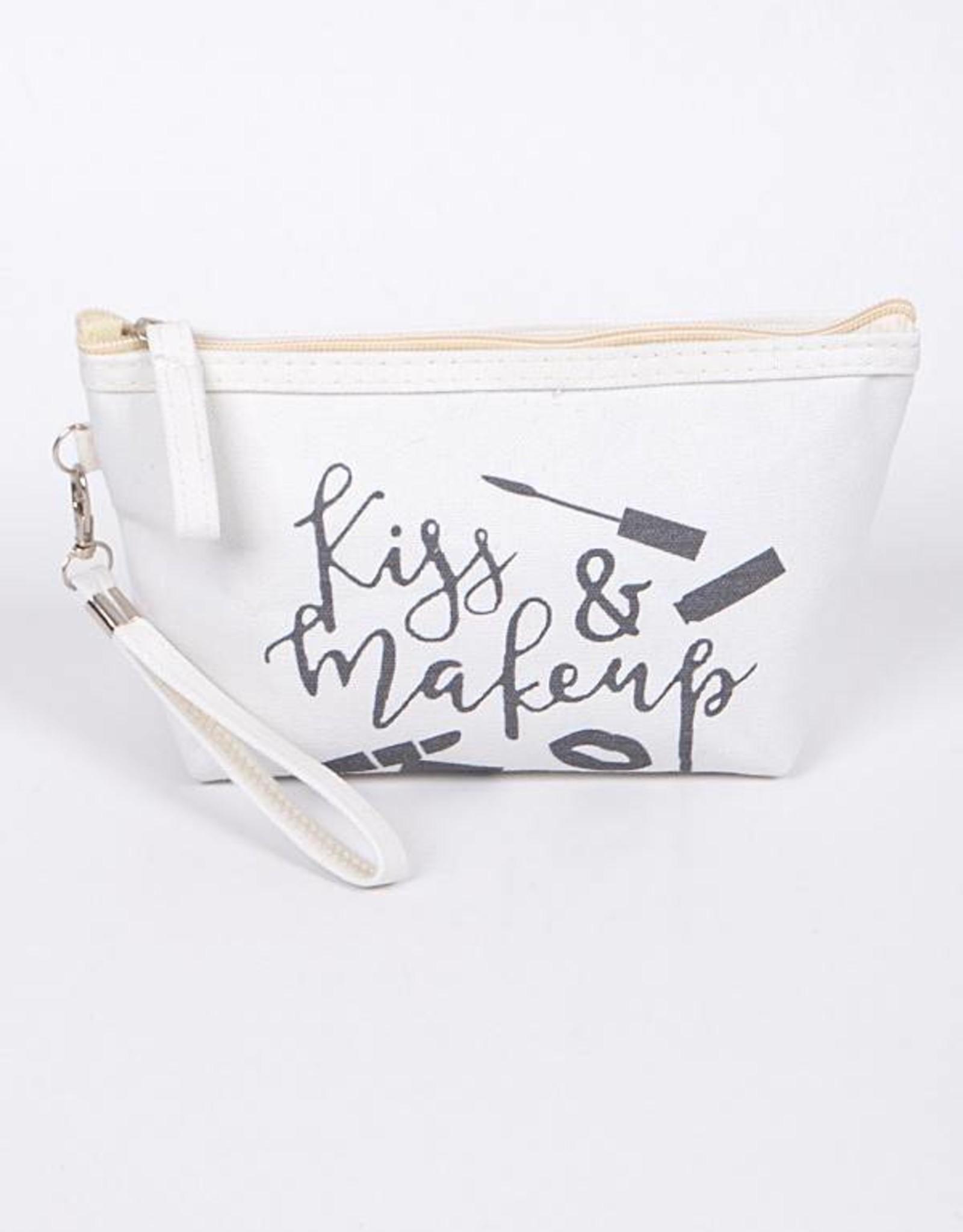 Kiss & Makeup Cosemtic Bag