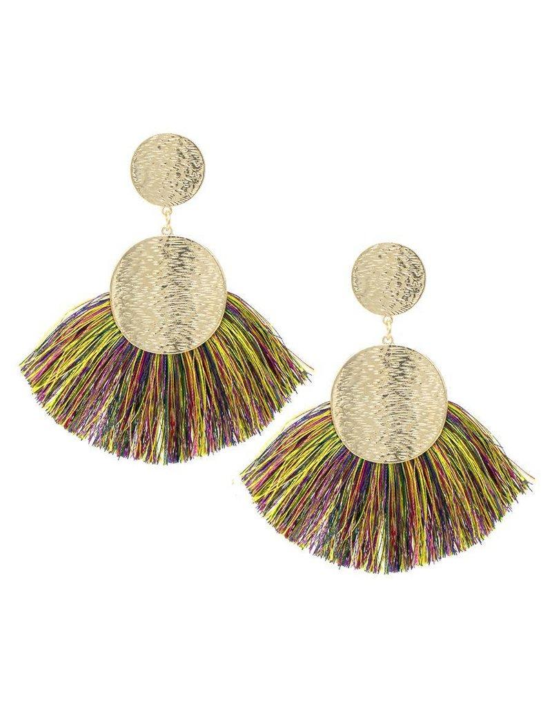 Chill Thrill Tassel Earrings