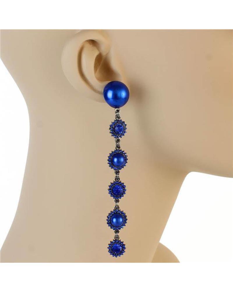 Pearls Connected Earrings