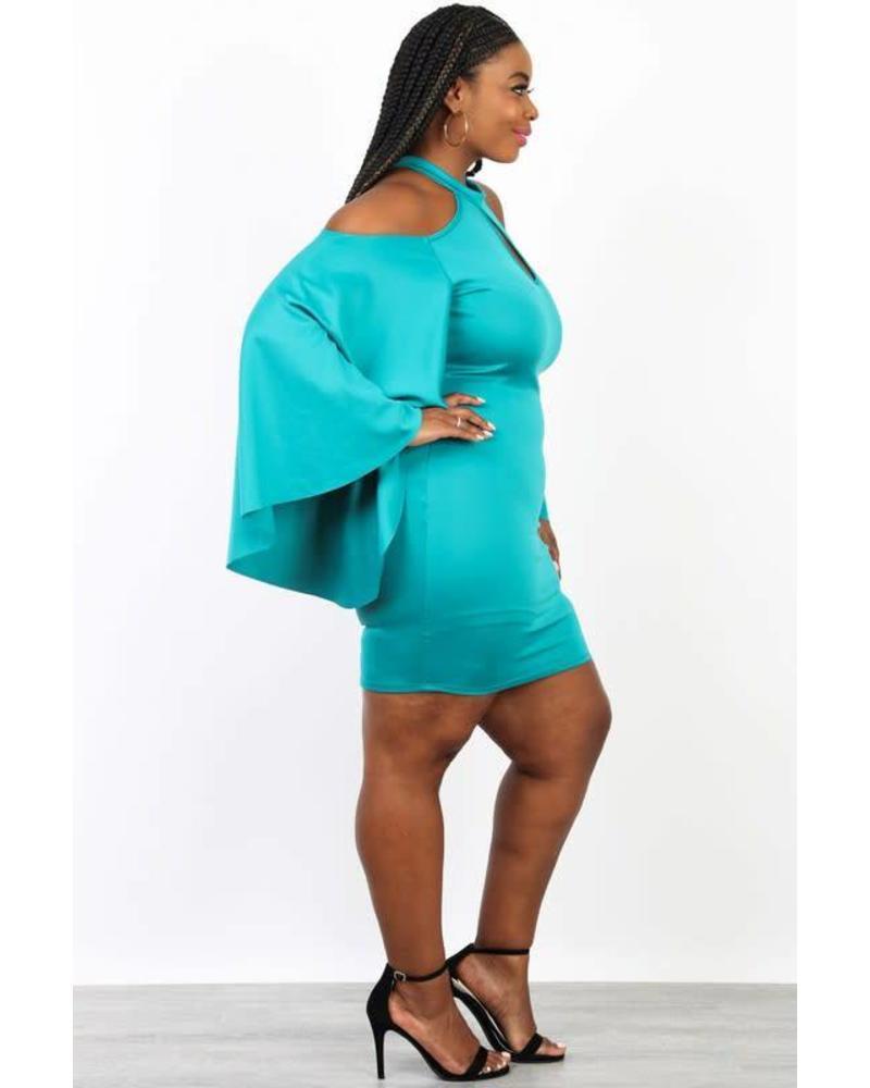 PLUS Game Changer Dress Jade
