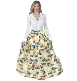 Sophisticated Lady Maxi Skirt