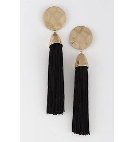 Flat Out Tassel Earrings