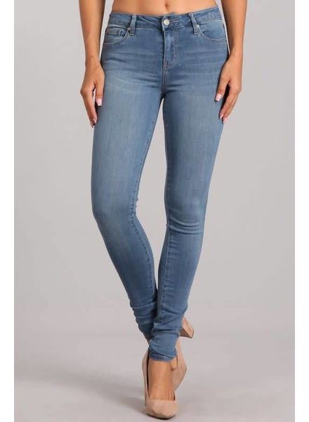 Like A Glove Mid Rise Skinny Jeans