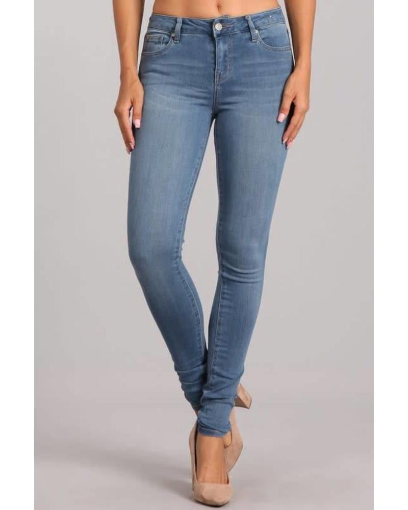 Like A Glove Mid Rise Skinny Jeans