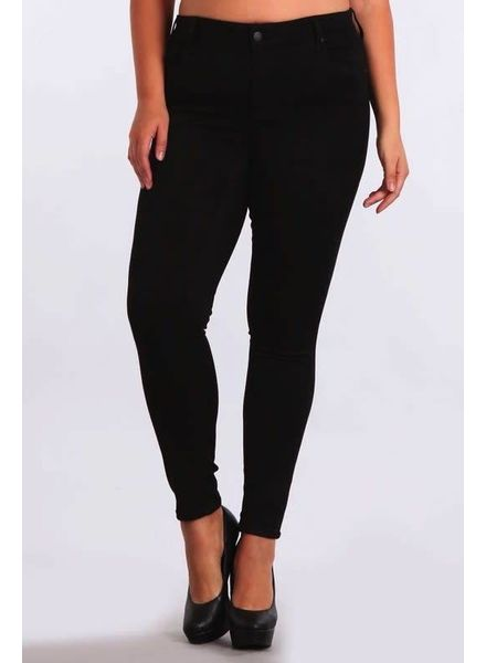 PLUS Black Skinny Pants