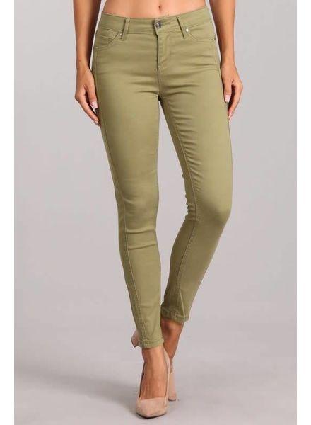 Sage Mid Rise Skinny Pants