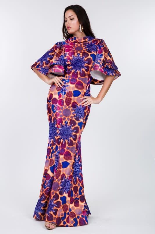 Atomic Burst Mermaid Dress