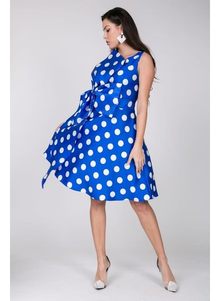 Decked Out Dots Skater Dress