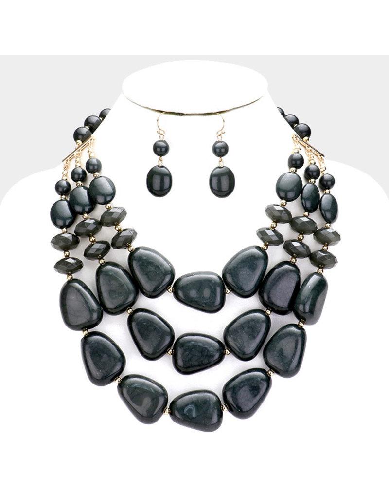 Stones Throw Necklace Set