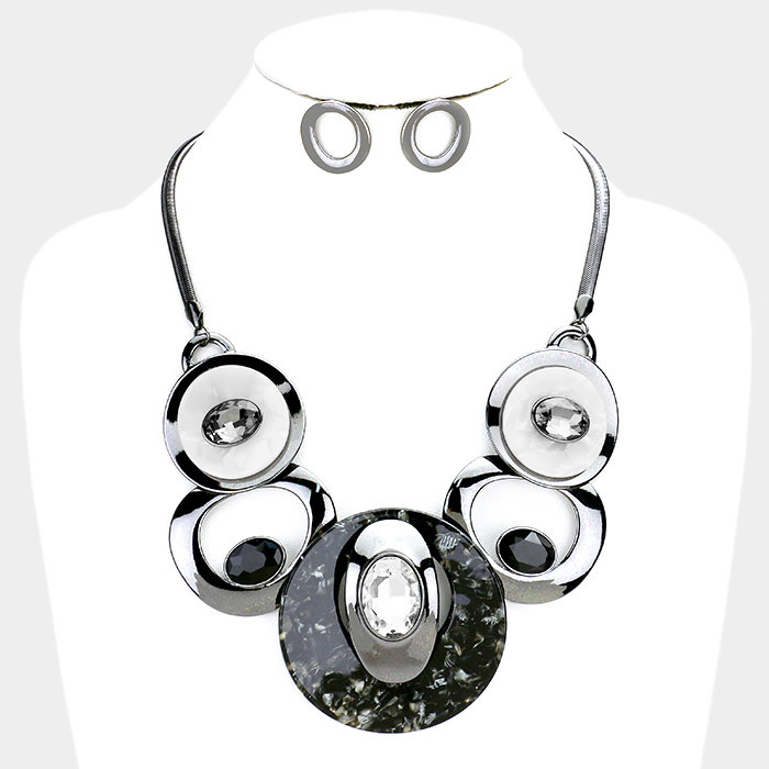 Bombs Away Necklace Set
