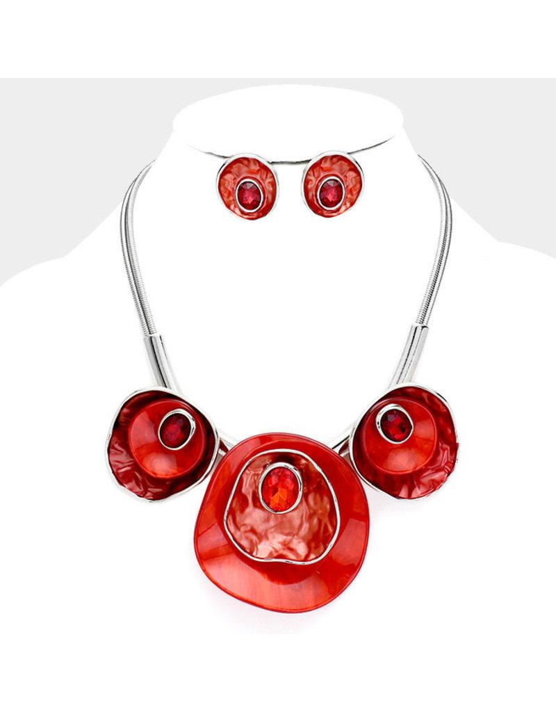Atomic Burst Necklace Set