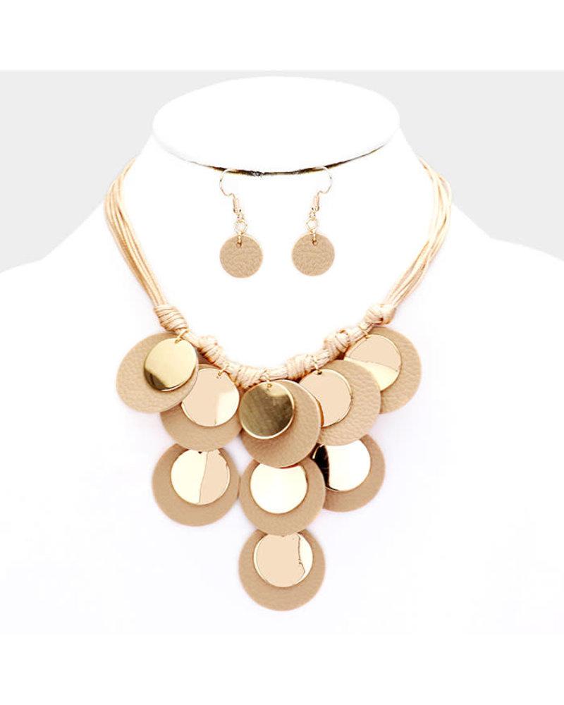 Circle Way Necklace Set