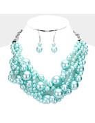 Pearl Pride Necklace Set