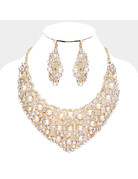 Burst of Pearls Necklace Set