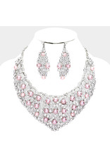 Burst of Pearls Necklace Set