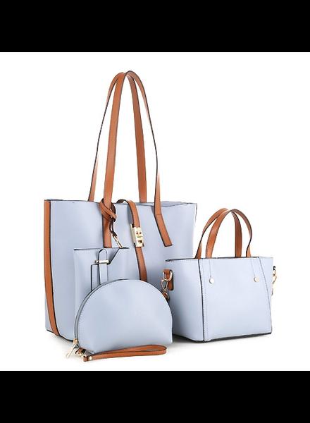 Stroke Of Love 4 PC Handbag Set