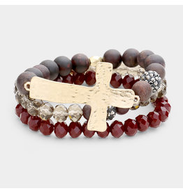 Semi Precious Bracelet Set