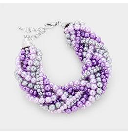 Braiding Pearl Bracelet