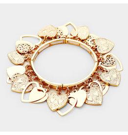 Lots of Hearts Bracelet