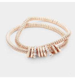 Rings Of Gold Bracelet