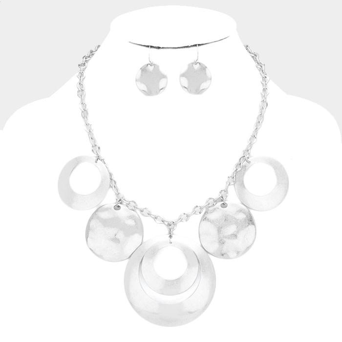 Circle Pop Necklace Set